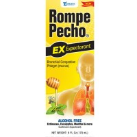 Rompe Pecho Expectorant Liquid With Honey, 6 oz [000856301061]