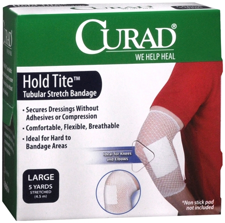 Curad Hold Tite Tubular Stretch Bandage Large 1 Each [080196305240]