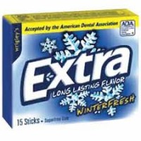 Extra Sugar Free Gum Winterfresh 10 packs (15 ct per pack)  [989802284004]