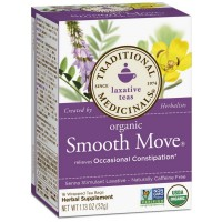 Traditional Medicinals Organic Herbal Laxative Tea Bags, Smooth Move 16 ea [032917000095]