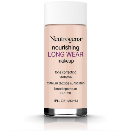 Neutrogena Nourishing Long Wear Makeup, Natural Ivory [20], 1 oz [086800437215]