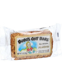 Bobo's Oat Bar All Natural, 3 oz bars, Almond 12 ea [829262000104]