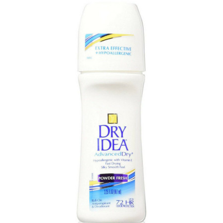 Dry Idea AdvancedDry Roll-On Anti-Perspirant & Deodorant Powder Fresh 3.25 oz [017000068237]