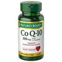 Nature's Bounty Co Q-10 Plus L-Carnitine 100 mg Softgels 60 ea [074312176401]