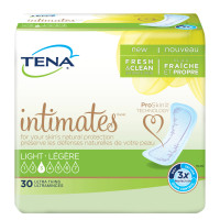 Tena Intimates Ultra Thin Light Incontinence Pad Regular, 30 Count [380040465008]