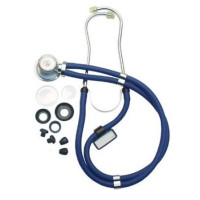 "Graham Field  Sprague Rappaport-Type Stethoscope 22"" Blue 1 ea [717076035194]"