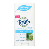 Tom's of Maine Tea Tree Long Lasting Deodorant, 2.25 oz  [077326445310]