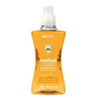 Method 4X Concentrated Laundry Detergent, Ginger Mango 53.50 oz [817939014905]