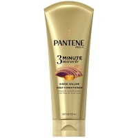 Pantene Pro-V 3 Minute Miracle Sheer Volume Deep Conditioner 8 oz [080878181063]