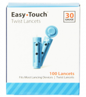 Easy Touch Twist Lancets 30 Gauge 100 Each [084963010016]
