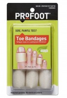 ProFoot Toe Bandages One Size 3 Each [080376015686]