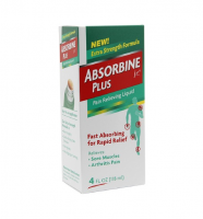 Absorbine Jr. Plus Pain Relieving Liquid 4 oz [889411264528]