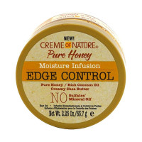Creme of Nature, Pure Honey Moisture Infusion Edge Control Gel 2.25 oz [075724428058]