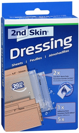 2nd Skin Dressing Kit 1 Each [038472504009]