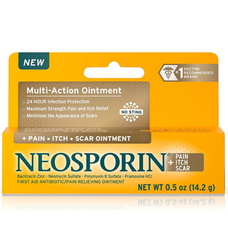 Neosporin + Pain Itch Scar Multi-Action Ointment 0.5 oz [312547238083]