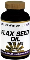 Windmill Flax Seed Oil 1000 mg Softgels 60 Soft Gels [035046003456]