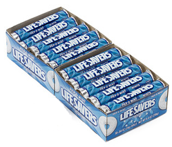 Lifesavers Pep-O-Mint Candy  20 pack (14 ct per pack)  [019000080653]