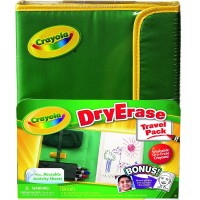 Crayola Dry Erase Travel Pack 1 ea [071662186340]