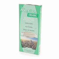 Maxim Hygiene Products Organic Cotton Swabs 180 ea [895199001262]