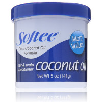 Softee Coconut Oil Hair & Scalp Conditioner 5 oz [096002009219]