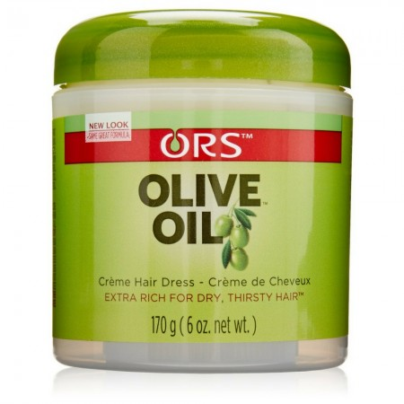 Organic Root Stimulator Olive Oil Creme Hair Dress 6 oz [632169110445]