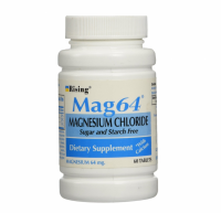 Rising Mag64 Magnesium Chloride with Calcium Tablets 60 ea [768585005758]