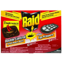 Raid Double Control Small Roach Baits & Egg Stoppers 15 ea [046500116346]