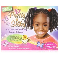 Luster's  PCJ Pretty N Silky No Lye Conditioning Relaxer, Children's Regular 1 ea [038276007157]