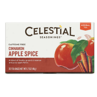 Celestial Seasonings Tea Caffeine Free Herbal Tea, Cinnamon Apple Spice 20 ea [070734053108]