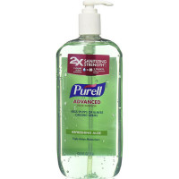 Purell Hand Sanitizer with Refreshing Aloe 33.8 oz [073852027464]