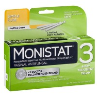 MONISTAT 3 Vaginal Antifungal Cream, Prefilled Applicator 3 ea [363736442019]