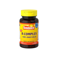 Sundance Vitamins B-Complex 100% Daily Value, 100 ea [840093140005]
