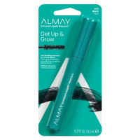 Almay One Coat Get Up & Grow Mascara, [020] Black, 0.21 oz [309972816023]