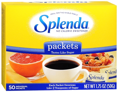 SPLENDA Sweetener Packets 50 Each [722776200018]