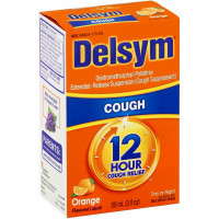 Delsym Adult Cough Suppressant Liquid Orange Flavor, 3 oz [363824175638]