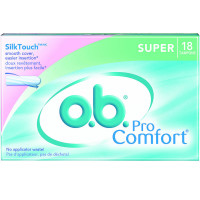 o.b. Pro Comfort Tampons Super 18 Each [078300070146]