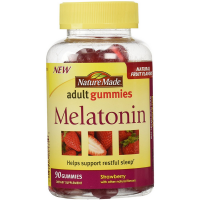 Nature Made Melatonin Adult Gummies, Strawberry with Other Natural Flavors  90 ea [031604041359]