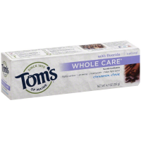 Tom's of Maine Whole Care Natural Fluoride Toothpaste, Cinnamon Clove 4.70 oz [077326830734]