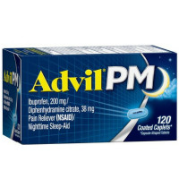 Advil PM Caplets 120 ea [305730164436]