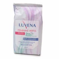 Luvena Feminine Wipes 25 Each [899655002145]