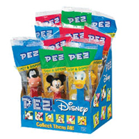 PEZ Disney Mickey  Assorted 12 ct [073621007772]