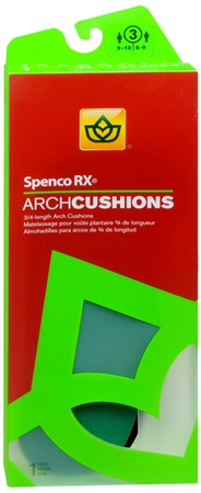 Spenco RX Arch Cushions 3/4 Length #3 1 Pair [038472449034]