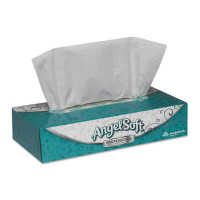 Angel Soft Facial Tissue Professional Series White 735 X 845 Inch, 100 ea [073310485805]