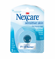 Nexcare Sensitive Skin Low Trauma Tape 1 in x 144 in 1 ea [051131200357]