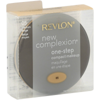 Revlon New Complexion One-Step Compact Makeup SPF 15, Medium Beige [005] 0.35 oz [309974364058]