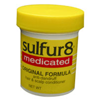 Sulfur8 Medicated Regular Formula Anti-Dandruff Hair and Scalp Conditioner 2 oz [075610430103]