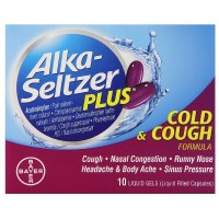 Alka-Seltzer Plus Cold & Cough Liquid Gels 10 ea [016500555346]