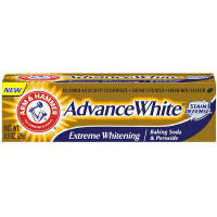 ARM & HAMMER Advance White Extreme Whitening Baking Soda & Peroxide Toothpaste, Fresh Mint 0.90 oz [033200186007]