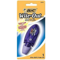 Bic Mini Wite Out Correction Tape 1 ea [070330507531]