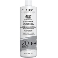Clairol Professional Pure White Creme Developer, Standard Lift [20] 16 oz [381519049149]
